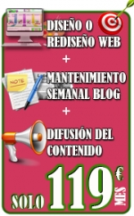 "Oferta ""Pack Imprescindible"" 50% Dto"